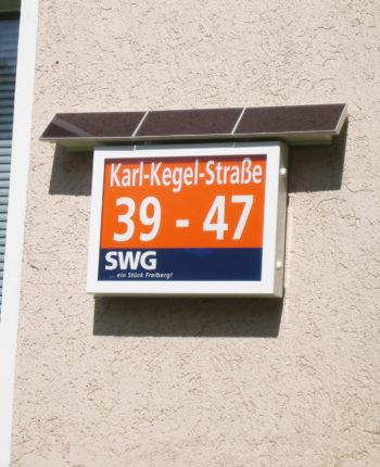 Solar Hausnummernschild Home System